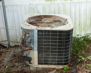old ac unit